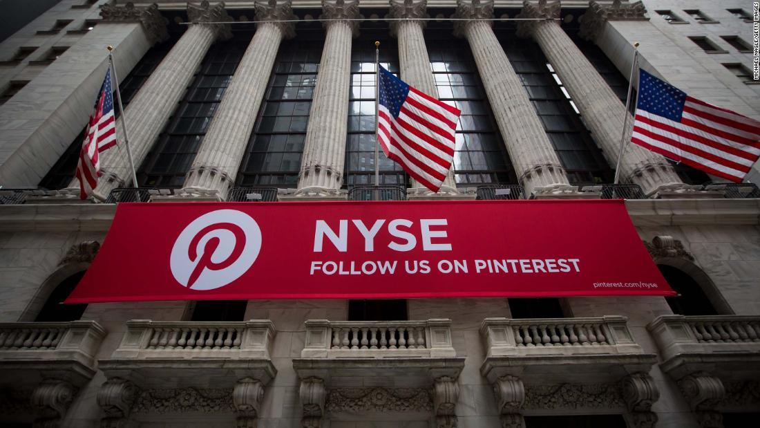 Pinterest files to go public. Its stock ticker? PINS